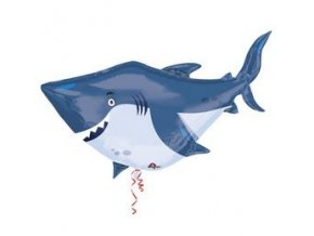 ocean buddies shark capa super shape folia lufi n3377401