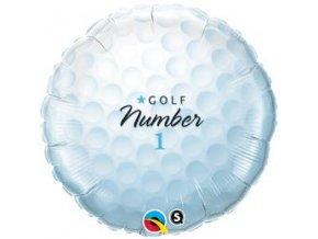 18 inch es golf labda golf ball number 1 folia lufi q71600