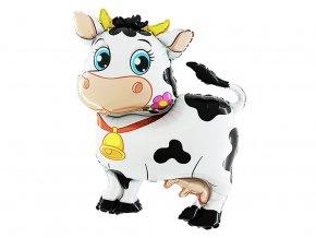 eng pl Super Shape Cow Foil Balloon 114cm 1 pc 38800 2