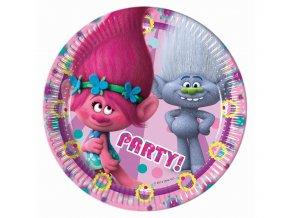 Tanier Trolls-Poppy party 8ks v balení