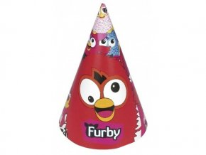 Klobúčiky Furby 6ks v balení