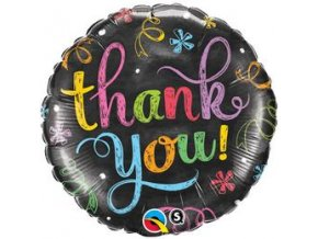 18 inch es thank you chalkboard folia lufi q11826