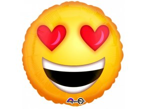 Fóliový balón Smile Love 46cm