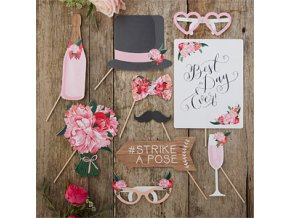 Boho Photo Booth Props BOHOPHOT