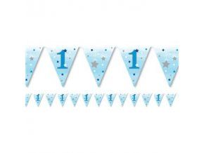 one little star boy paper bunting OLSBBUNT v1