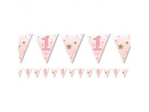 one little star girl paper bunting OLSGBUNT v1