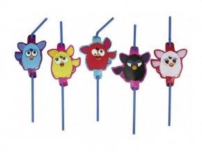 Slamky Furby 8ks v balení