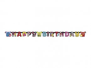 Banner Happy Birthday Furby 180cm