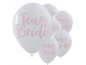 Team Bride Latex Balloons BALL1727 v1
