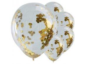 pick n mix gold confetti balloons PMIXBALL6 v1