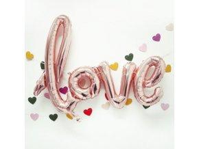 Love Rose Gold Balloon FOIL2399 v1 a1