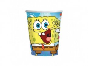 Pohár Spongebob 266ml, 8ks v balení
