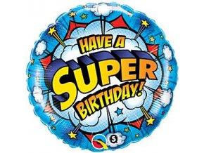 have a super birthday balloon foil1401