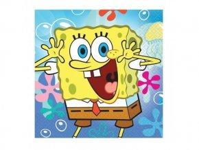 Servitky Spongebob 33cm, 20ks v balení