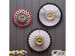 Pop Art Superhero Hanging Fans POPAFANS