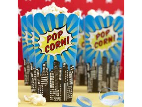pop art superhero popcorn boxes POPAPOPC ps13