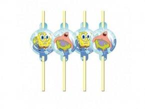 Slamky Spongebob 8ks v balení