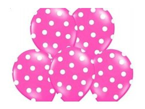 eng pm Balloons 14 Pastel Rose Dots 5 pcs 13143 1