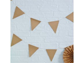 Pick Mix Polka Dot Bunting PMIXBUNT4