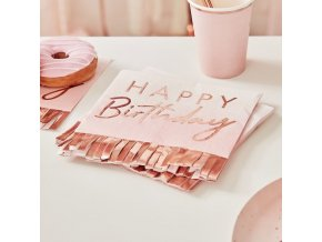 mix 130 happy birthday fringe napkin min