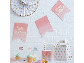 Pick Mix Ombre Flag Bunting PMIXBUNT1