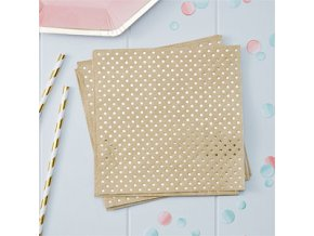 Pick Mix Polka Dot Napkins PMIXNAPK2