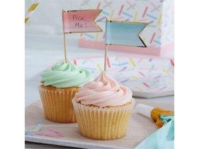 Pick Mix Ombre Cupcake Picks PMIXPICK3