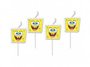 Sviečky Spongebob 4ks v balení