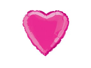 eng pm Hot Pink Heart Foil Balloon 47 cm 1 pc 1795 1