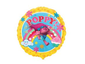 eng pm Poppy Trolls Foil Balloon round 43cm 24593 2