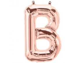 Rose Gold Letter B Balloon FOIL2727 v1