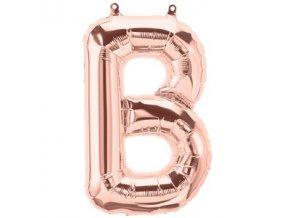 Rose Gold Letter B Balloon FOIL2727 v1