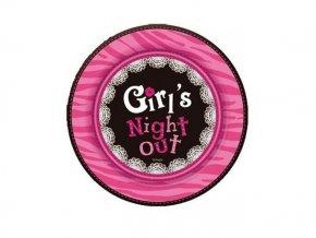 Tanier Girl's night 18cm, 6ks v balení