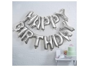 pm 983 happy birthday balloon bunting silver 1 min