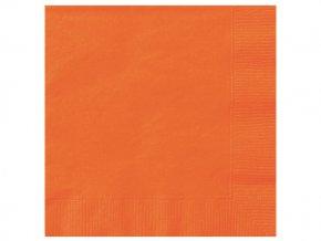 eng pl Pumpkin Orange Beverage Napkins 25 cm 20 pcs 25302 2