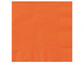 eng pl Pumpkin Orange Beverage Napkins 25 cm 20 pcs 25302 2