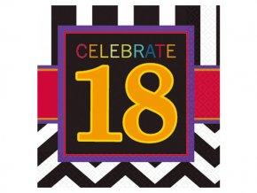 eng pl 18th Celebrate Luncheon Napkins 33cm 16 pcs 20058 2