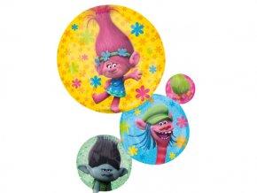 eng pl Super Shape Trolls Foil Balloon 55x71 cm 24594 1