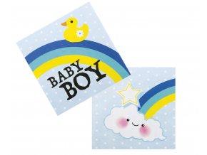 serwetki papierowe baby boy 33 x 33 cm 12 szt
