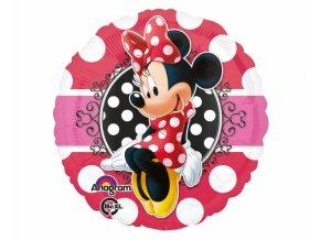 Foliový balón Minnie Mouse 43cm
