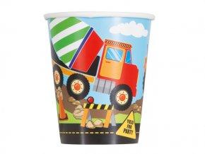 eng pl Construction Party Paper Cups 266 ml 8 pcs 24509 2