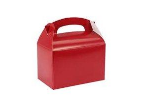 Krabička na drobnosti - červená red