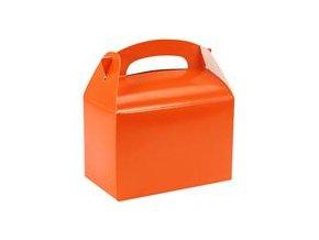 Krabička na drobnosti - oranžová orange