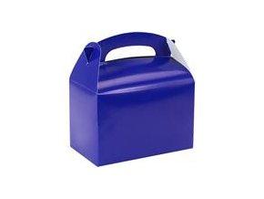 Krabička na drobnosti modrá