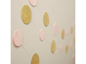 Pastel Perfection Circle Garland PPERGARL