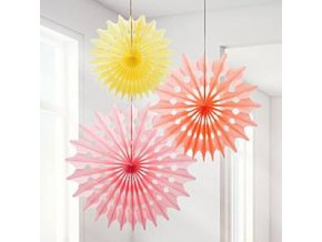 sorbet fan decorations deco618