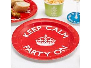 keep calm plate keepplat