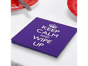 keep calm napkin keepnapk