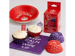 keep calm Cupcake Cases KEEPCASE