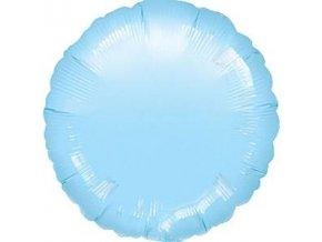 18 inch pastel blue round foil balloon FOIL302